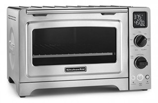 KitchenAid KCO273SS 12″ Convection Bake Digital Countertop Oven